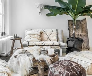 home, interior, and boho image