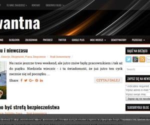 blog, screen, and zrzut ekranu image