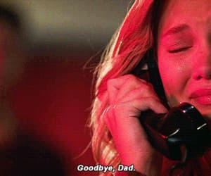 crying, phone, and olivia holt image