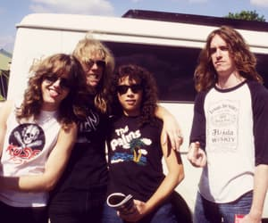 metallica, James Hetfield, and kirk hammett image