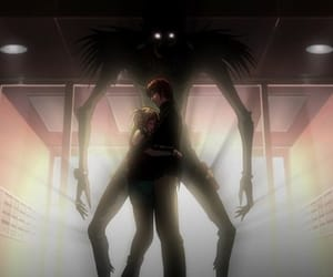 anime, death note, and love image