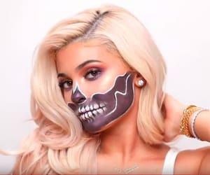makeup, kylie jenner, and Halloween image