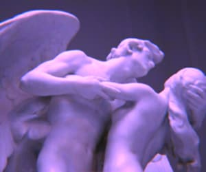 statue, art, and pale image