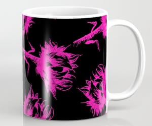 black, pink, and bright image