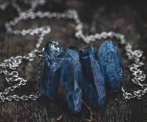 crystal, blue, and magic image