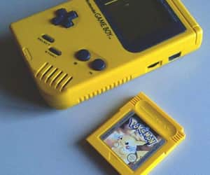 yellow, pokemon, and game image