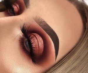 eyebrows, eyelashes, and maroon image