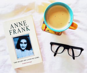 adolf hitler, anne frank, and books image