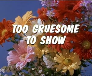 flowers, gruesome, and grunge image