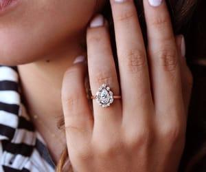 etsy, gold ring, and women wedding ring image