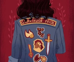 art, fashion, and gryffindor image