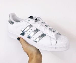 adidas, shell, and silver image