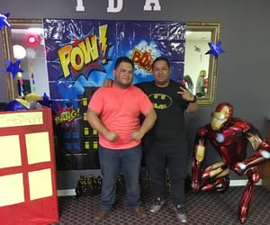 amigos, superheroes, and church image