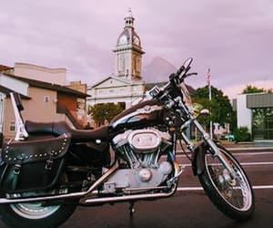 bikes, harley, and ride image
