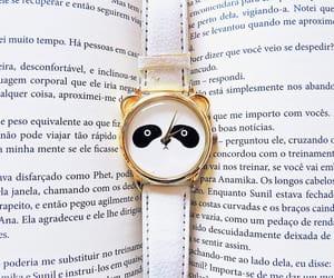 book, panda, and amo ler image