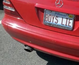 red, car, and boy image