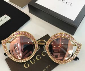 gucci, sunglasses, and luxury image