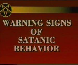 satan, goth, and satanic image