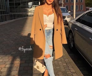 brune brunette, ootd tenue love, and outfit clothes chic image
