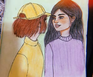 friendship, precious, and yellow and purple image