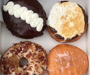 chocolate, doughnut, and food image