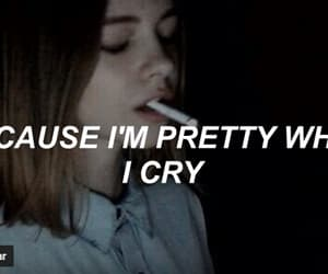 music, ️lana del rey, and pretty when you cry image