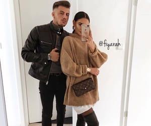 louis vuitton lv, couple relationship, and mode moda lové image