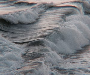ocean, aesthetic, and blue image
