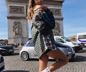 arc de triomphe, fashion, and fashion blogger image