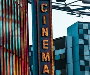 blue, cinema, and movies image