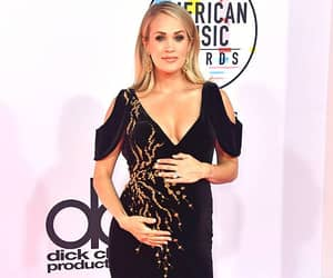 dress, red carpet, and carrie underwood image