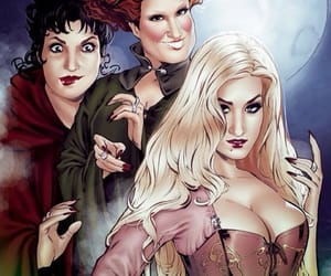 Halloween, october, and Witches image