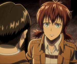 isabel, attack on titan, and levi image