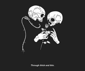 art, grunge, and skull image