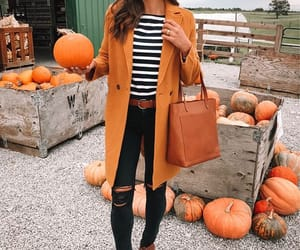 autumn, beauty, and clothes image