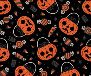 background, pattern, and Halloween image