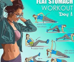 abs, fitness, and workout image