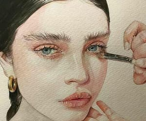 A girl, artistic, and art image
