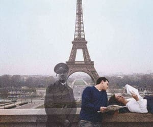 paris, hitler, and couple image