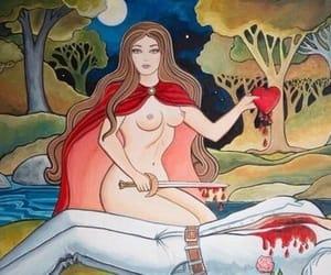 art, death, and magic image