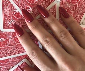 cards, fashion, and nail image