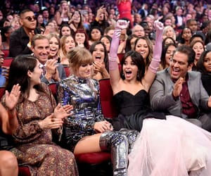 Taylor Swift, american music awards, and camila cabello image
