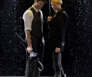 glee, umbrella, and rain image