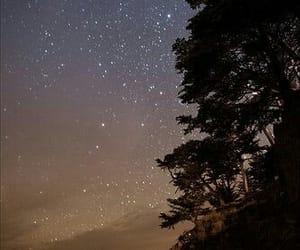 long exposure, night, and stars image