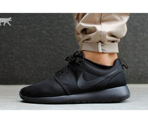 all, black, and nike image
