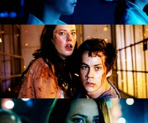 the maze runner, teresa agnes, and kaya scoledario image