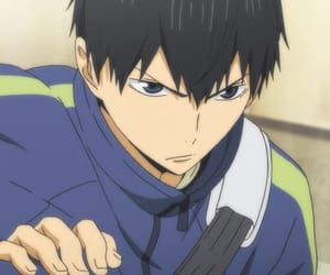 anime, haikyuu, and kageyama image