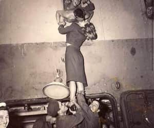 kiss, vintage, and black and white image