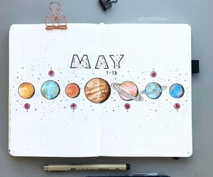 constellation, stars, and bujo image
