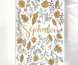 autumn, bujo, and bullet journal image